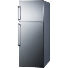 Thin Line 12.6 cu. ft. Counter Depth Top Freezer Refrigerator with LED Lighting