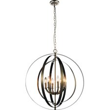 Delroy 6-Light Candle-Style Chandelier
