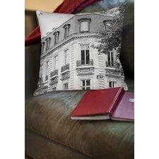A Travers Paris II Printed Throw Pillow