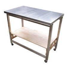 prep table with stainless steel top - Kitchen Prep Table Stainless Steel