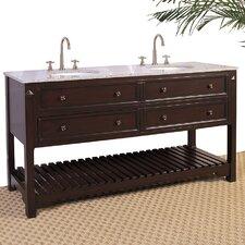Hatherleigh 68 Double Chest Bathroom Vanity Set by Legion Furniture