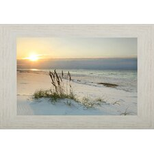coastal framed photographic print