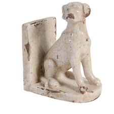 2 Piece Letha Dog Bookends Set (Set of 2)