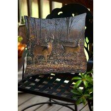 Lovers Lane Indoor/Outdoor Throw Pillow by Manual Woodworkers & Weavers