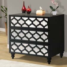 3 Drawer Wooden Chest by Wildon Home ®