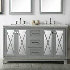 60 Double Vanity Set by Legion Furniture