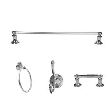 Highlander 4 Piece Bathroom Hardware Set