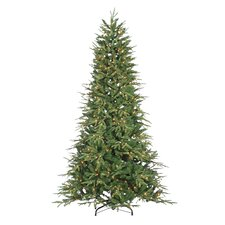 7.5' Green Fir Artificial Christmas Tree with 700 Incandescent Clear Lights