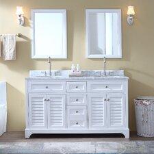 Madison 60 Double Bathroom Vanity Set by Ari Kitchen & Bath