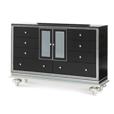 Hollywood Swank Starry Night 8 Drawer Dresser by Michael Amini (AICO)