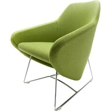 Taxido Sled Base Lounge Chair by Segis U.S.A