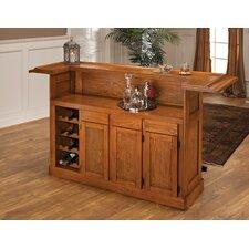 Potomac Bar with Wine Storage