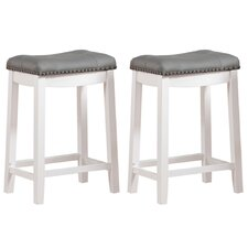 "Cambridge 24"" Bar Stool (Set of 2)"