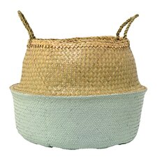 Traditional Seagrass Basket with Handles