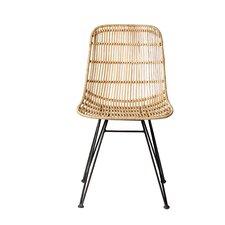 Karesinda Braided Rattan Side Chair by Bungalow Rose