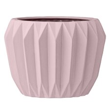 Claudius Fluted Ceramic Pot Planter