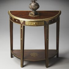 Artifacts Demilune Console Table by Butler
