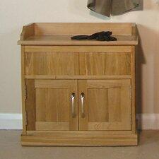 Mobel Oak Wooden Shoe Cabinet