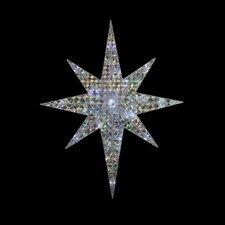 Lighted LED Bethlehem Star Standing Christmas Yard Art