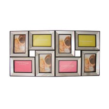 Trimmed Glass Encased Collage Wall Decoration Picture Frame