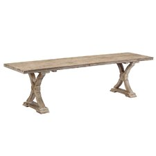 Windsor Wood Dining Bench by One Allium Way