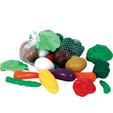 28 Piece Vegetables Play Food Set