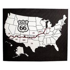 Route 66 Gallery Graphic Art on Wrapped Canvas