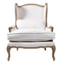 Bardot Bergere Wing back Chair by Blink Home