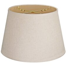 """Timeless Tapered 14"""" Linen Empire Lamp Shade"""