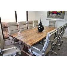 11 Piece Ligna 8' Rectangular Conference Table set