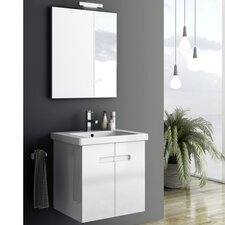 New York 2 26 Single Bathroom Vanity Set with Mirror by ACF Bathroom Vanities
