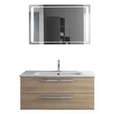 Dadila 39 Single Bathroom Vanity Set with Mirror by ACF Bathroom Vanities