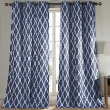 Kittattinny Geometric Blackout Curtain Panels (Set of 2)