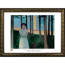 Summer Night's Dream by Edvard Munch Framed Painting Print