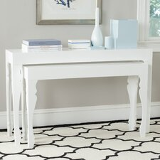 Beth 2 Piece Console Table Set by Safavieh