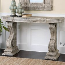 Partemio Distressed Console Table