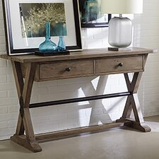 Reclamation Place Console Table by Hammary