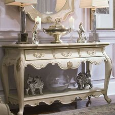Lavelle Console Table with Mirror by Michael Amini (AICO)