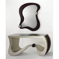 Console Table with Mirror by Artmax
