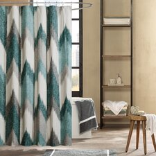 Alpine Cotton Printed Shower Curtain