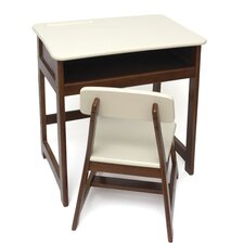 Kid's 2 Piece Rectangular Table and Chair Set