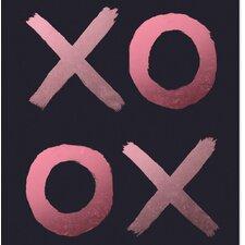'XO OX' Painting Print Graphic art