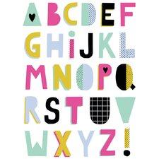 'ABC Summer' Textual Art