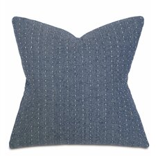 Alden Baste Denim Fabric Throw Pillow