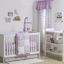 Wild and Free Patchwork 4 Piece Crib Bedding Set