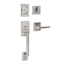 Koln Single Cylinder Entrance Handleset