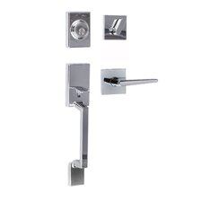 Stockholm Single Cylinder Entrance Handleset