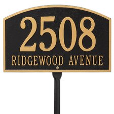 Legacy 2-Line Lawn Address Sign