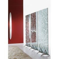 187cm x 80cm Dingle Mirror 1 Panel Room Divider
