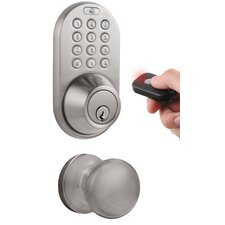 Keyless Electronic Single Cylinder Entrance Knobset